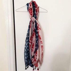 JULY 4TH SPECIAL: American Flag Scarf